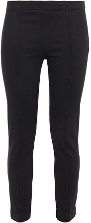 Laviez Cropped Cotton-blend Twill Skinny Pants