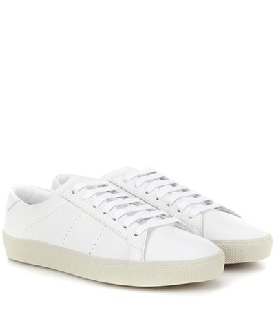 SL/06 leather sneakers