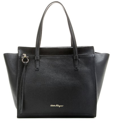 Large Amy leather tote