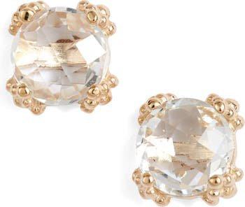 Anzie Dewdrop White Topaz Stud Earrings | Nordstrom
