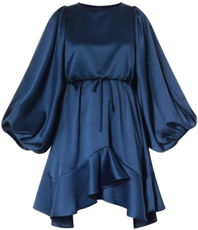 Meem Label Friya Blue Dress