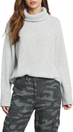 Imogen Cashmere & Silk Turtleneck Sweater