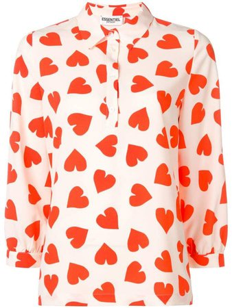 Essentiel Antwerp Shanaya heart top