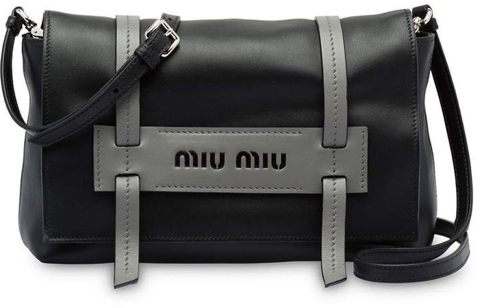 Grace Lux leather shoulder bag