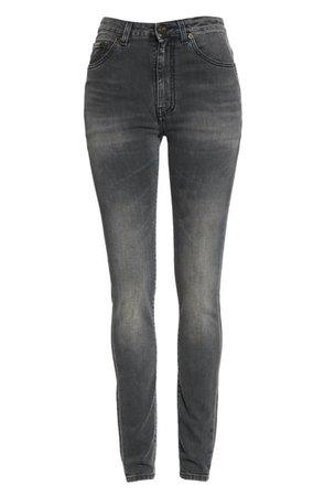 Saint Laurent High Waist Skinny Jeans | Nordstrom