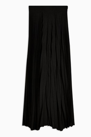 **Black Pleated Trousers by Topshop Boutique | Topshop black