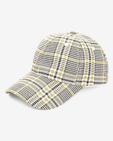 San Diego Hat Company Plaid Adjustable Baseball Cap