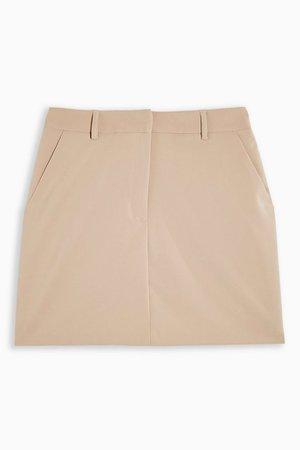 Stone Mini Skirt   Topshop stone