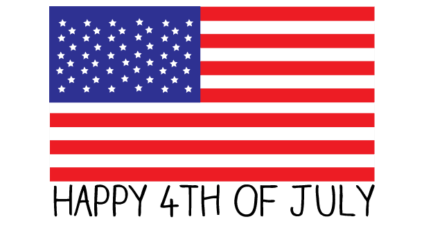 flag free 4th of july clipart and graphics