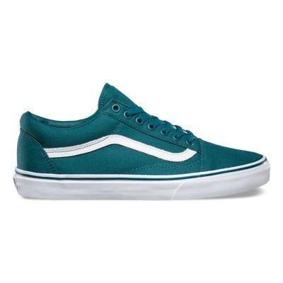 teal sneakers
