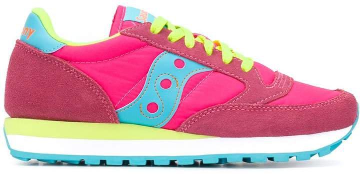 Colour-Block Low-Top Sneakers