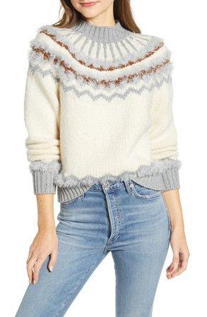Lou & Grey Fair Isle Sweater | Nordstrom