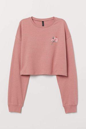 Short Sweatshirt - Pink