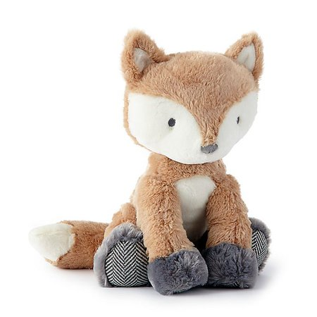 Levtex Baby® Bailey Fox Plush Toy in Brown   Bed Bath & Beyond