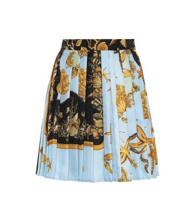 Printed Silk Skirt | Versace
