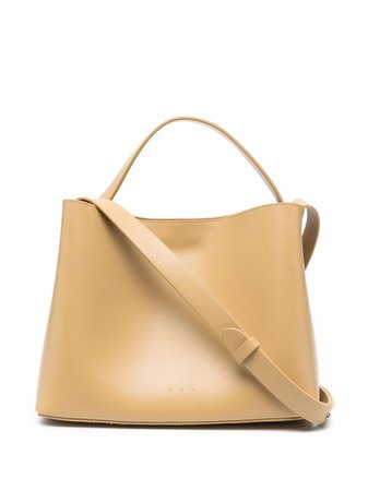 Shop Aesther Ekme mini leather shoulder bag with Express Delivery - FARFETCH
