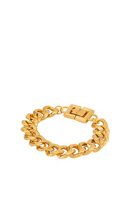 GOLDMINE Chunky Chain Bracelet in Gold   REVOLVE