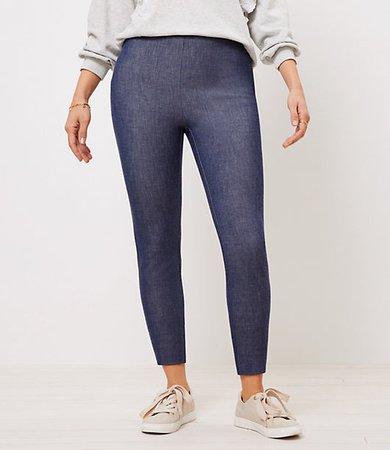 The Petite Curvy Side Zip High Waist Skinny Pant