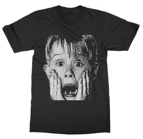 Kevin McCallister Home Alone - T-shirt ample en coton décontracté pour homme   Wish
