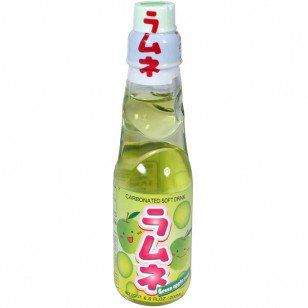Hata Ramune Soda Green Apple 6.6 oz - AsianFoodGrocer.com