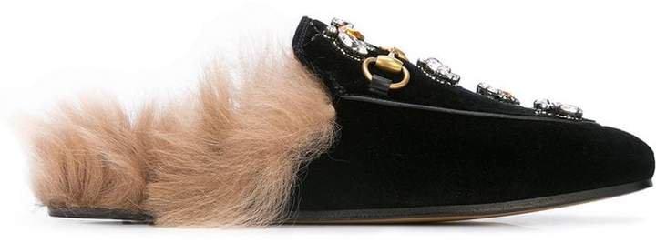 embellished Princeton horsebit loafers