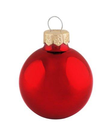 "Whitehurst Box of 28 2"" Glass Christmas Ornaments"