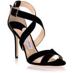 black heels jimmy choo