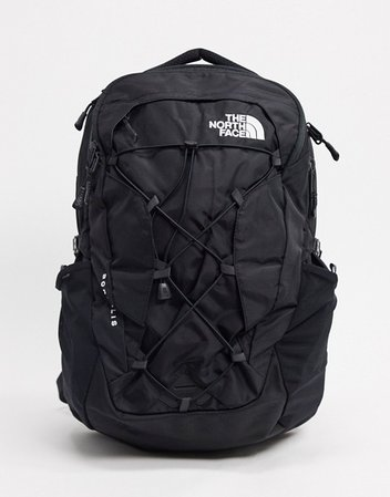 The North Face Borealis backpack in black | ASOS
