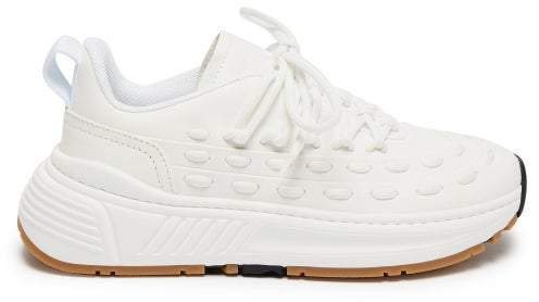 Speedster Leather Trainers - Womens - White