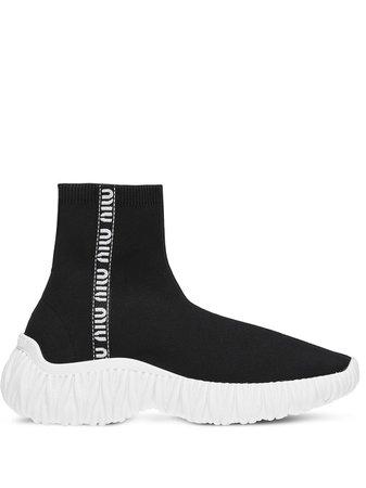 Miu Miu, slip-on high-top Sneakers