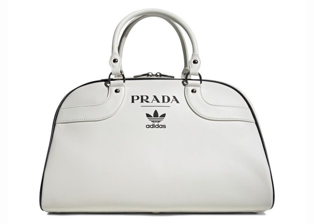 Prada x adidas Bowling Bag (Without Shoes) White