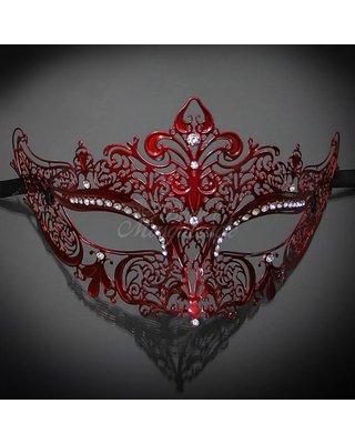 red masquerade masks - Google Search