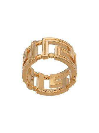 Versace Greca cut-out ring gold DG57594DJMT - Farfetch