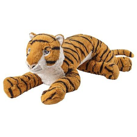 DJUNGELSKOG Soft toy, tiger - IKEA