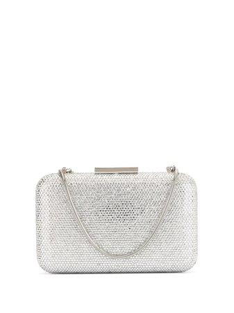 Silver The Chic Initiative Embellished Clutch Bag | Farfetch.com
