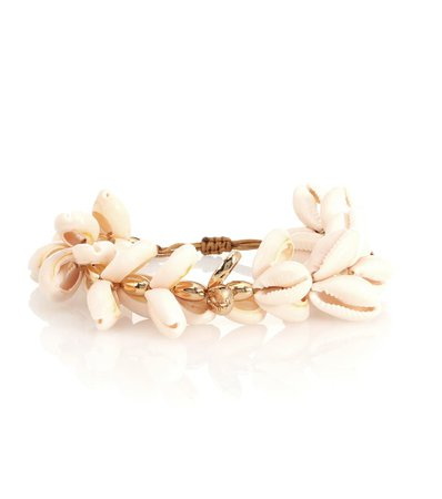Puka 22Kt Gold-Plated Cowry Shell Bracelet | TOHUM Design