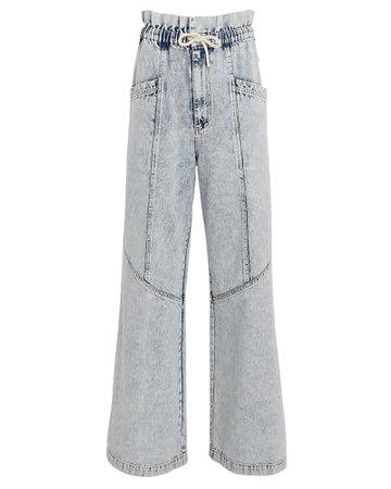 Sea Dax Paperbag Wide-Leg Jeans | INTERMIX®