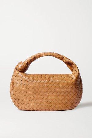 Bottega Veneta | Jodie small knotted intrecciato leather tote | NET-A-PORTER.COM