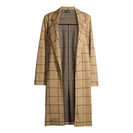 Scoop - Scoop Women's Long Knit Coat - Walmart.com - Walmart.com