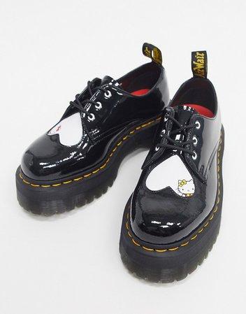 Dr Martens X Hello kitty Quad Sole Shoe | ASOS