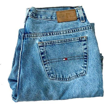 Tommy Hilfiger blue jeans 90s