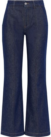 Iona High-rise Flared Jeans