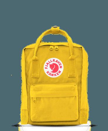 Fjallraven Kanken Mini Daypack in Warm Yellow – Welcome to Footprint27.com