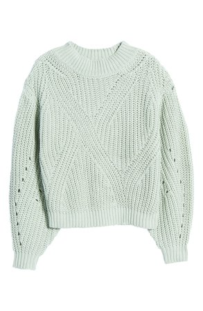BP. Traveling Stitch Sweater | Nordstrom