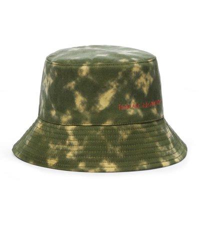 Ruslan Baginskiy - Tie-dyed bucket hat   Mytheresa
