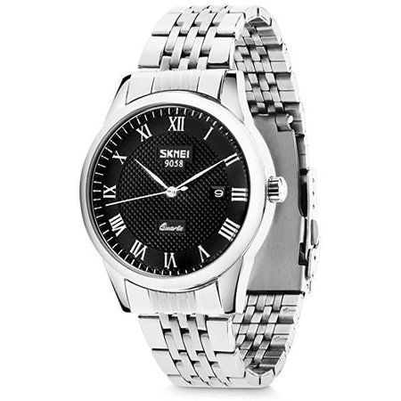 Amazon.com: Men's Quartz Analog Watches, Aposon Classic Business Casual Roman Numeral Wrist Watch Dress Waterproof Watch with Stainless Steel Band: Clothing
