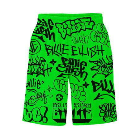 billie eilish shorts