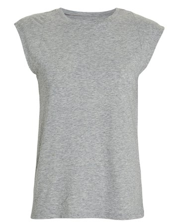 FRAME | Le Mid Rise Muscle Sleeveless T-Shirt | INTERMIX®