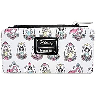 Amazon.com | Loungefly Disney Princesses Silhouette Faux Leather Womens Double Strap Shoulder Bag Purse | Luggage & Travel Gear