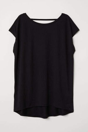 Oversized T-shirt - Black